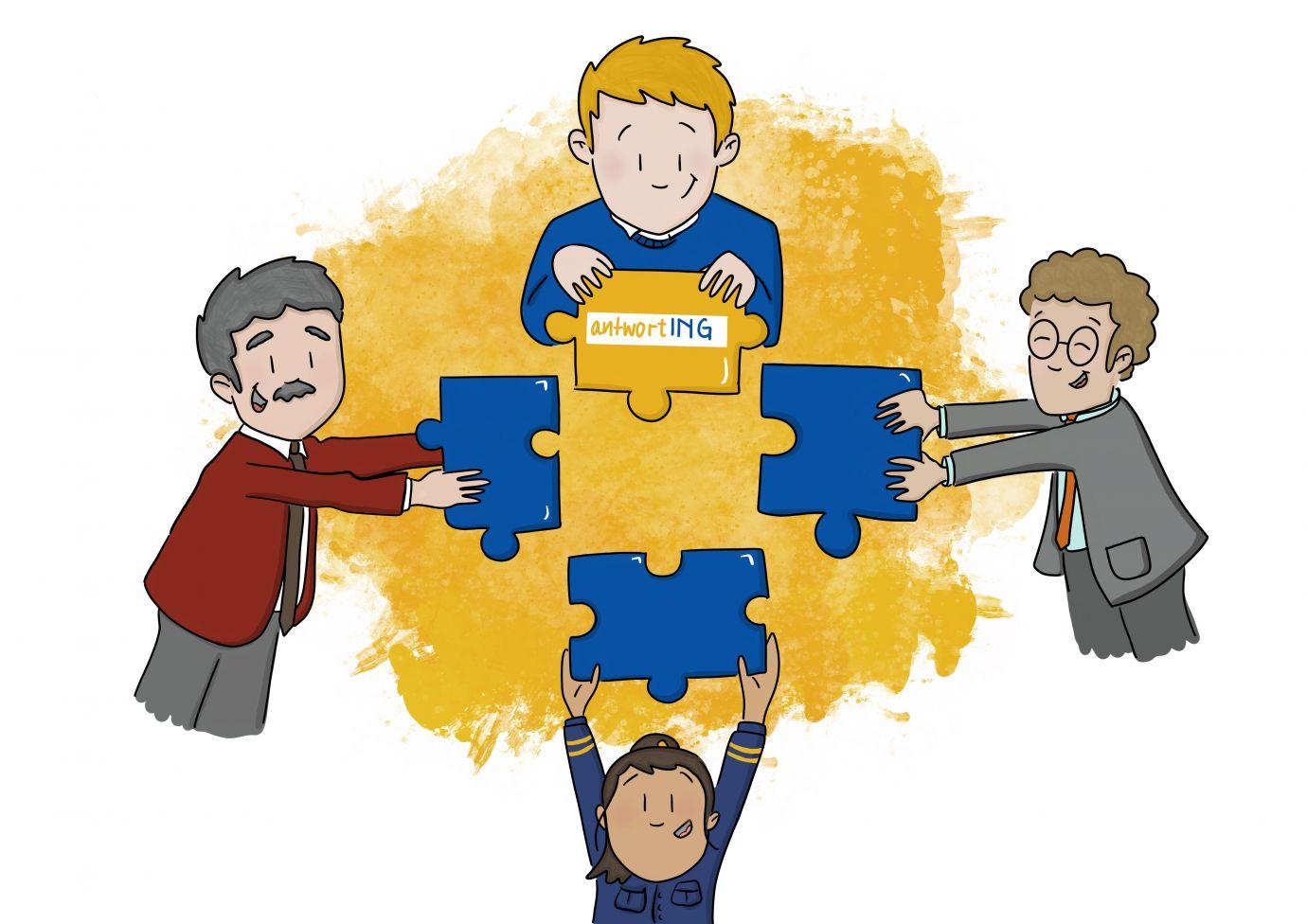 Projektablauf antwortING Schritt 7 Projektabschluss
